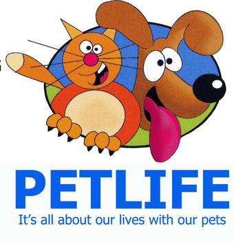 Large petlife logo tagged