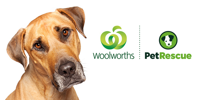 Woolworths and PetRescue Partnership
