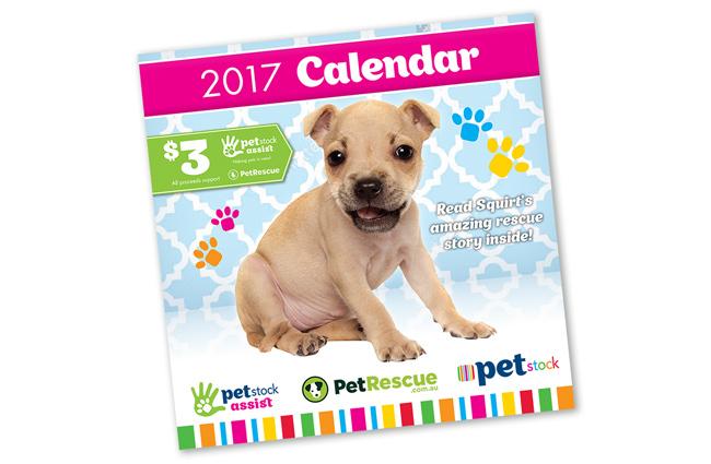 PetRescue 2017 Calendar