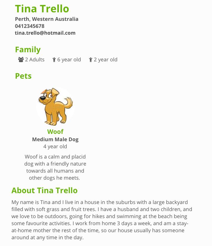 Adopter Profile