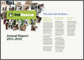 PetRescue Annual Report 2011-12
